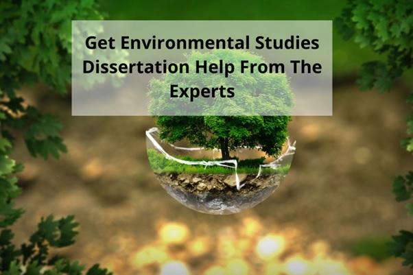 environmental studies dissertation help uk