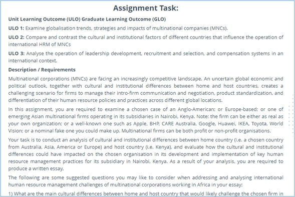 global resource system assignment question