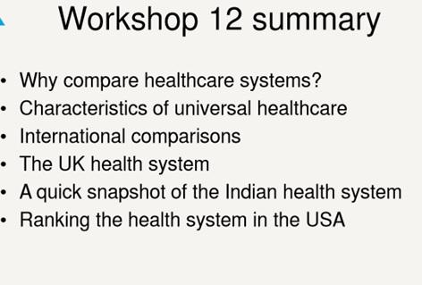 healthcare dissertation summary