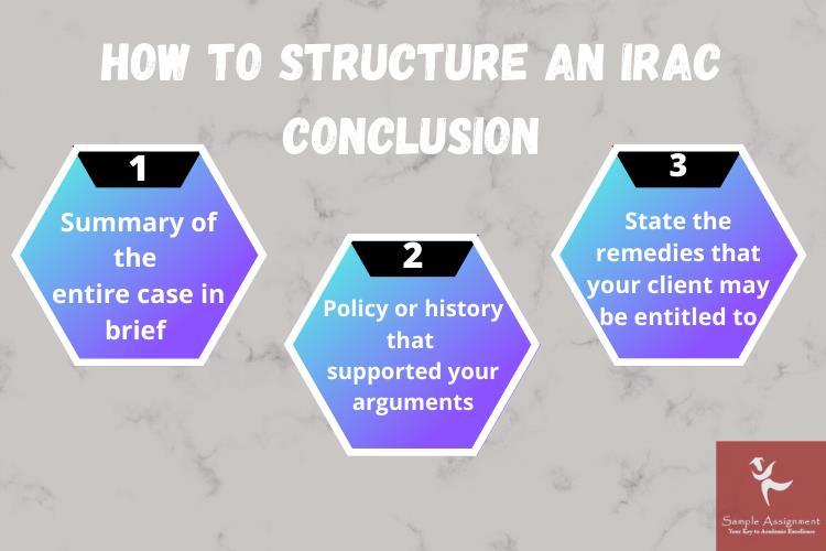 irac conclusion