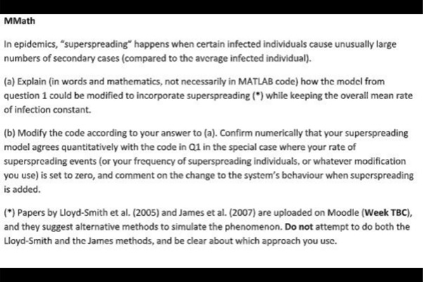matlab coursework question uk