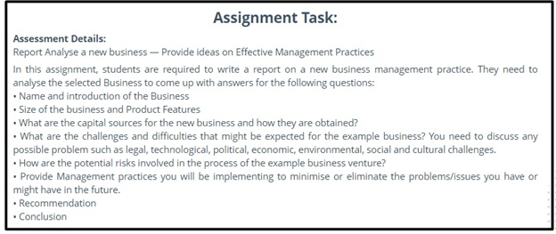 MBA assignment question