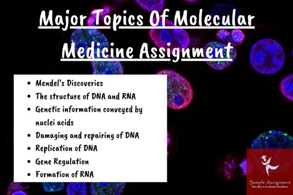 molecular medicine assignment topics