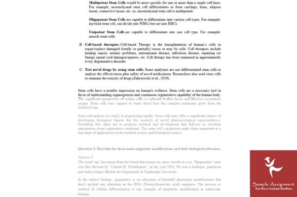 molecular medicine assignment writing help