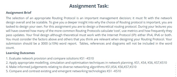 network simulation assignment task