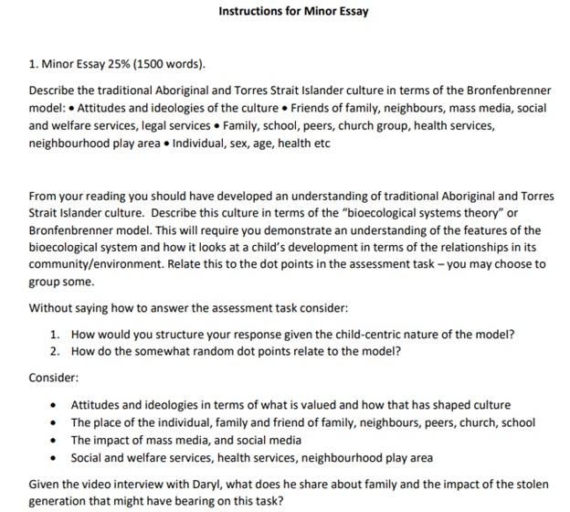 non plagiarized essay question