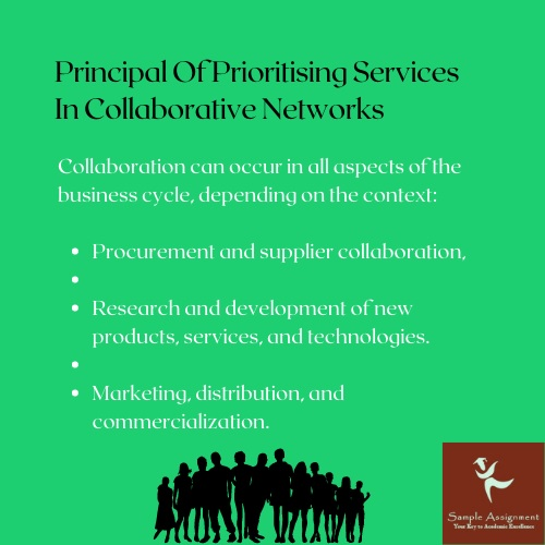 principle of prioritising services