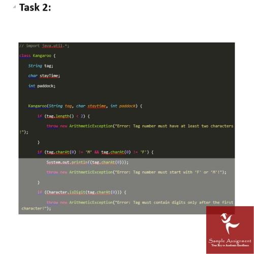 programming coursework sample UK