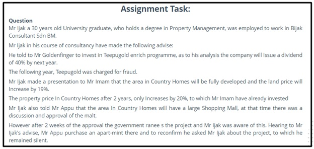 property management assignment help