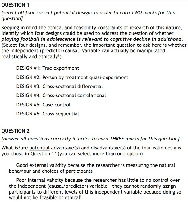 psychological science assignment question Canada