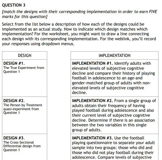 psychological science assignment question sample Canada