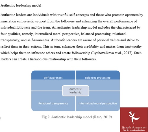reflection relationship assignment sample online