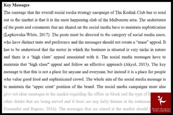 sample on media studies uk