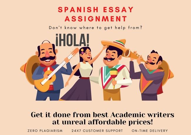 Spanish essay assignment