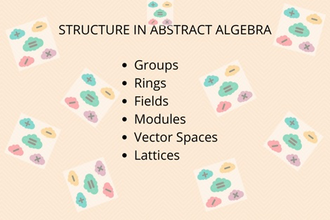 structure in abstract algebra
