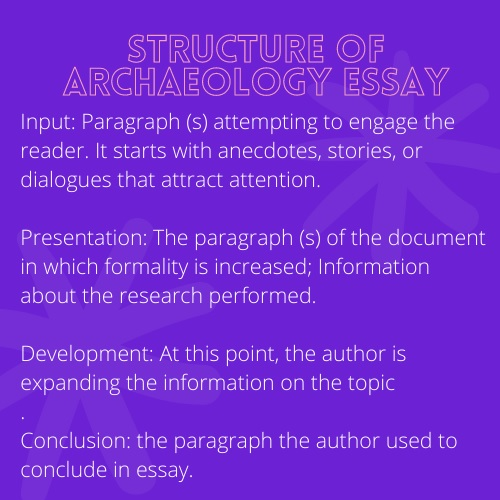 structure of archaeology essay