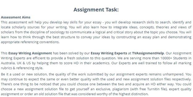 university essay writing question Canada