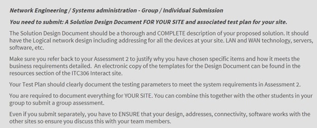 System Administration Assignment sample
