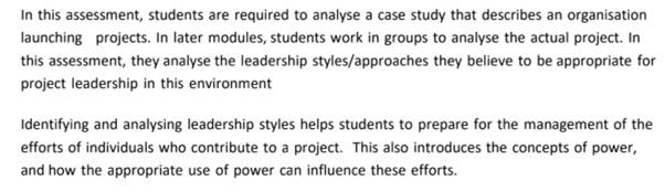 behavior management plan assignment question