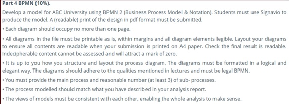 business process engineering assignment question