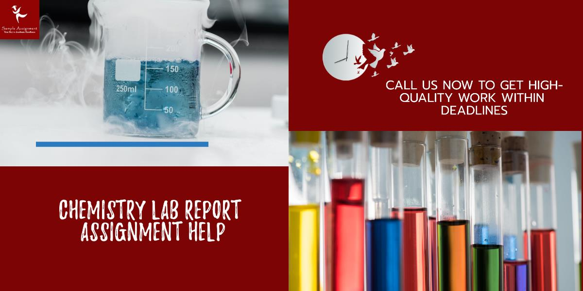 chemistry lab report academic assistance through online tutoring