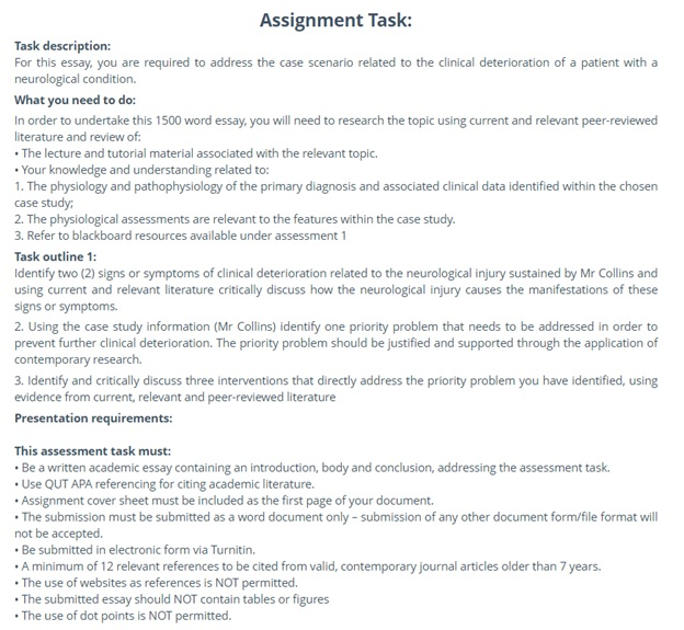correspondence guide assignment question sample
