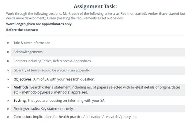 dissertation proposals question UK