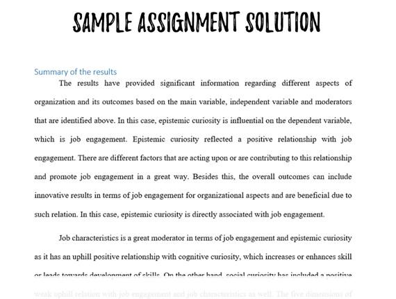dissertation result solution uk