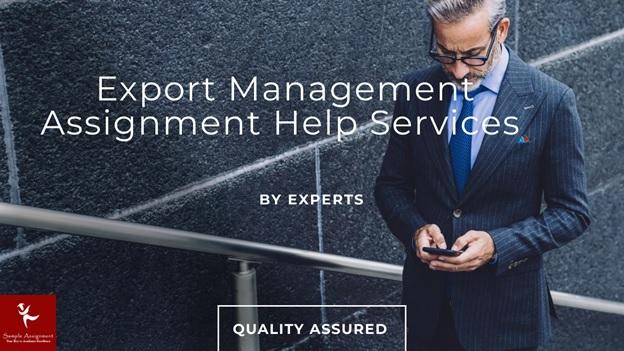 export management assignment help