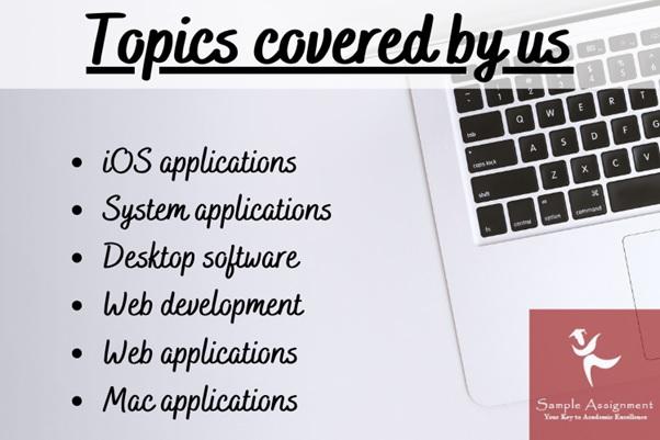 flutter application development assignment topics