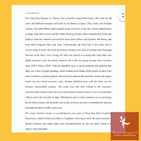gantt chartt assignment sample