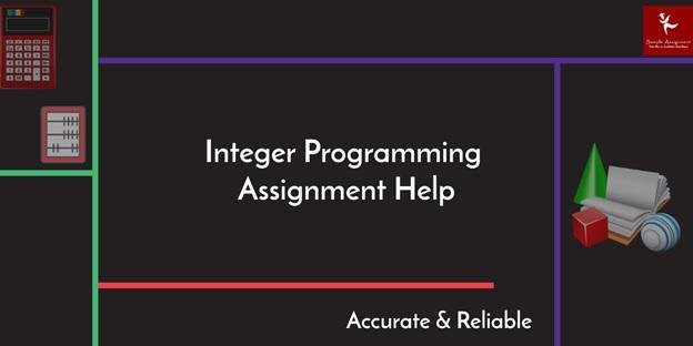 interger programming assignment help