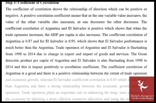 international economics assignment sample online UK