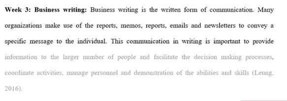 interpersonal communication assignment example