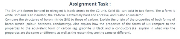 ionic compound assignment question
