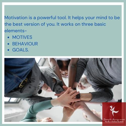 motivation assignment