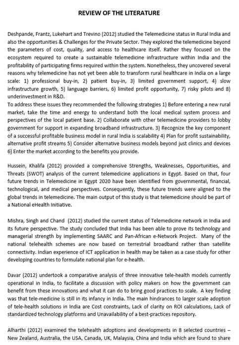 nursing dissertation proposal example