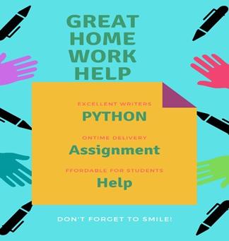 python assignment help Canada