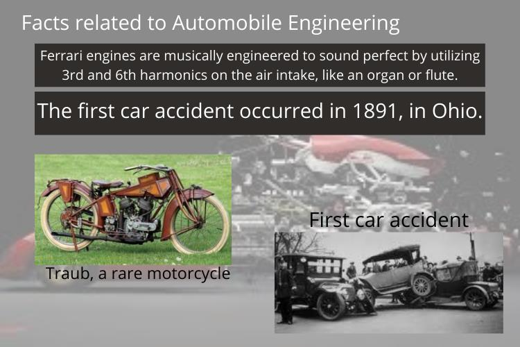 automobile engineering facts