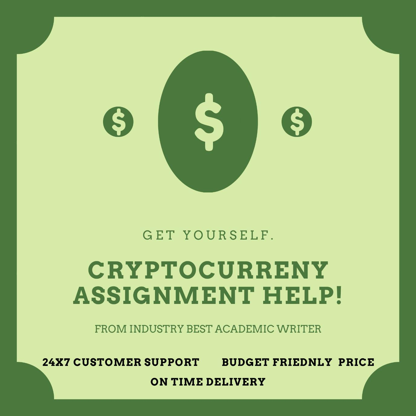 cryptocurrency assignment help