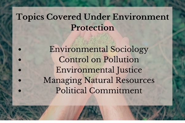 environment protection assignment