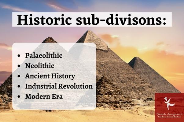 historic sub division