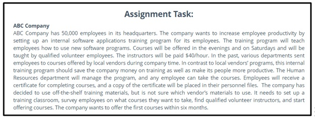hr function strategy case study question sample