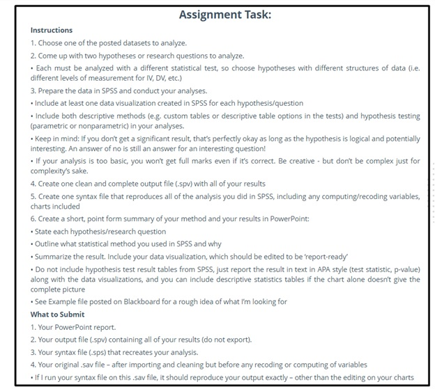 master thesis assignment question UK