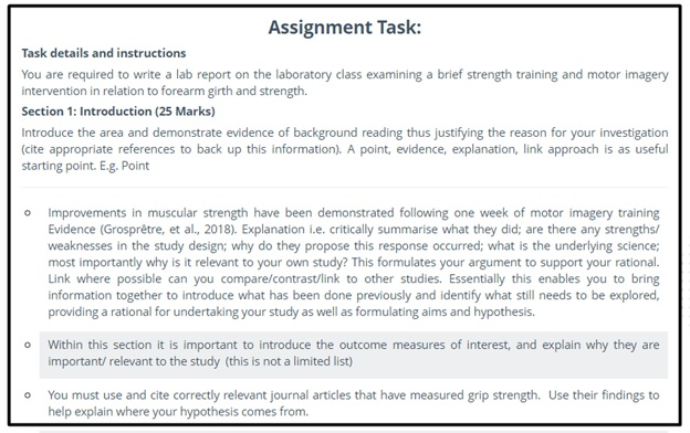 master thesis assignment question