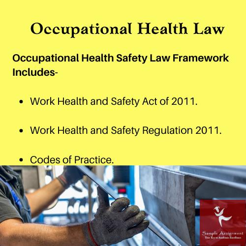 occupational health law assignment help