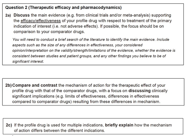 pharmacology personal statement question sample UK