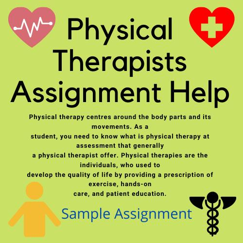physical therapists assignment help