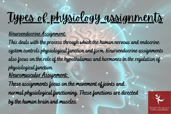 physiology assignments