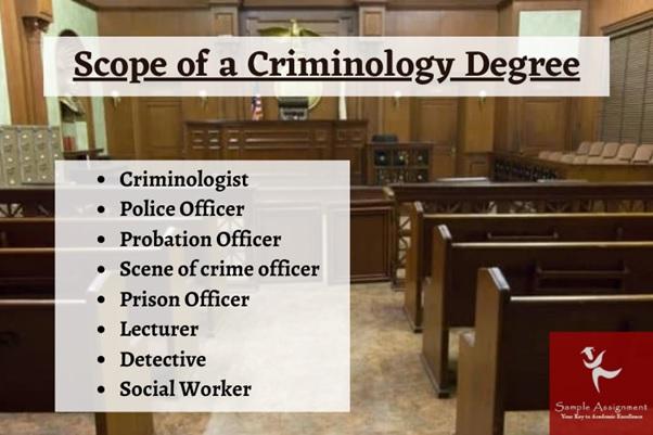 scope of criminology degree